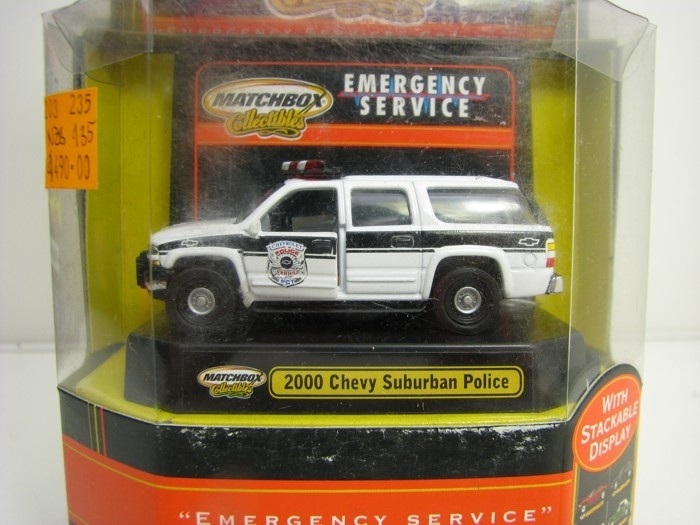 Chevrolet Suburban Police 2000 Matchbox Collectibles