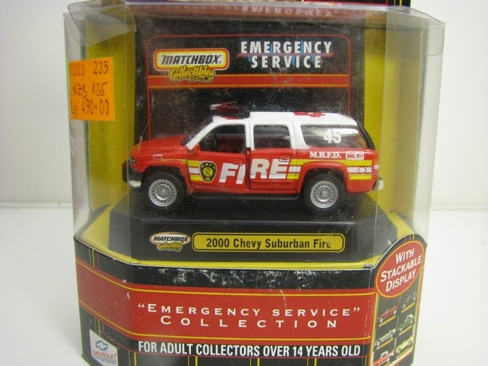Chevrolet Suburban Fire 2000 Matchbox Collectibles