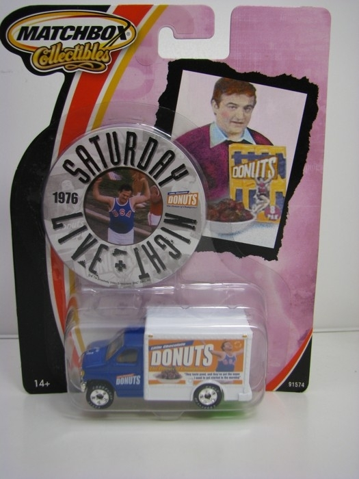 Matchbox Collectibles 1976 Saturday night live Donuts Trucks