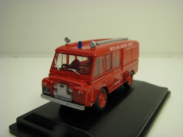 Land Rover FT6 Carmichael Westland Aircraft Rescue 1:76 Oxford