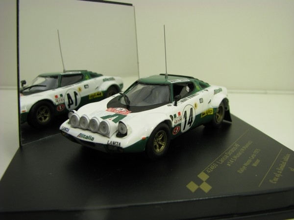 Lancia Stratos HF Munari No.14 Rally MC 1975 1:43 Vitesse