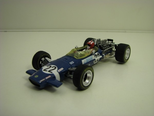 Lotus 498 No.22 Jo Seifert 1968 Britisch Grand Prix 1:43 Quartzo