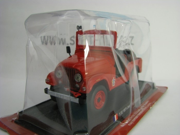 Jeep Willys M38 A1 Fire 1971 1:32 del Prado
