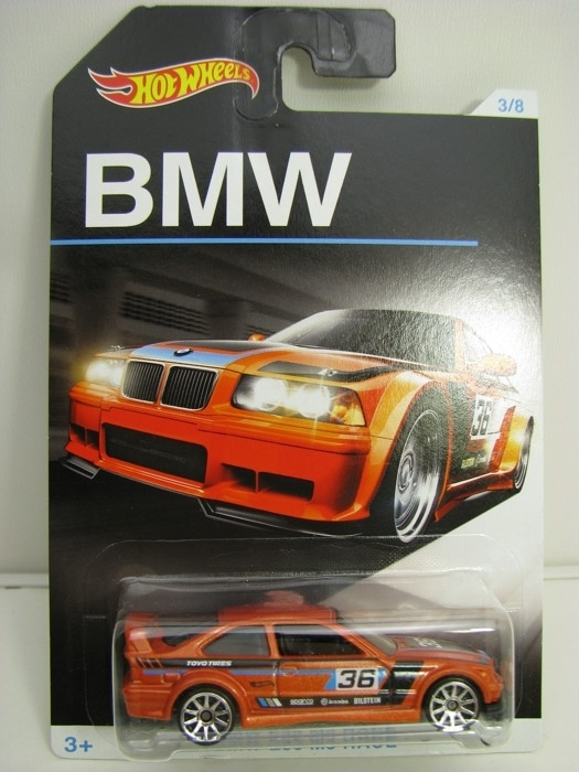 BMW E36 M3 RACE No.36 Hot Wheels
