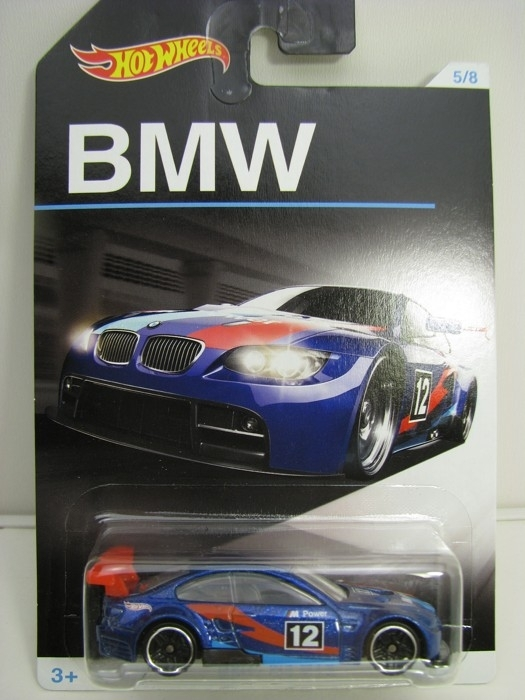 BMW M3 GT2 No.12 Blue Hot Wheels