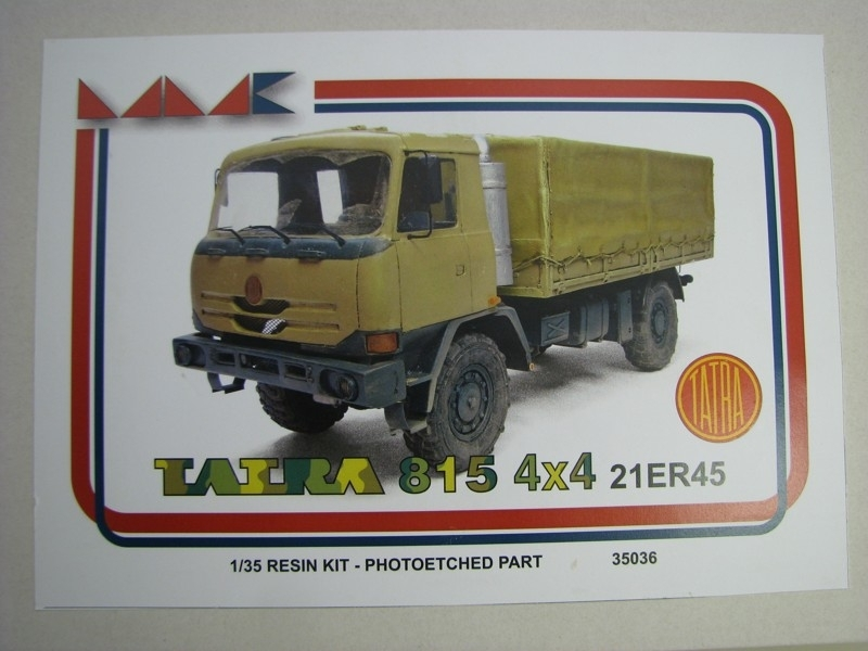 Tatra 815 4x4 21ER45 Resin Kit 1:35 MK models