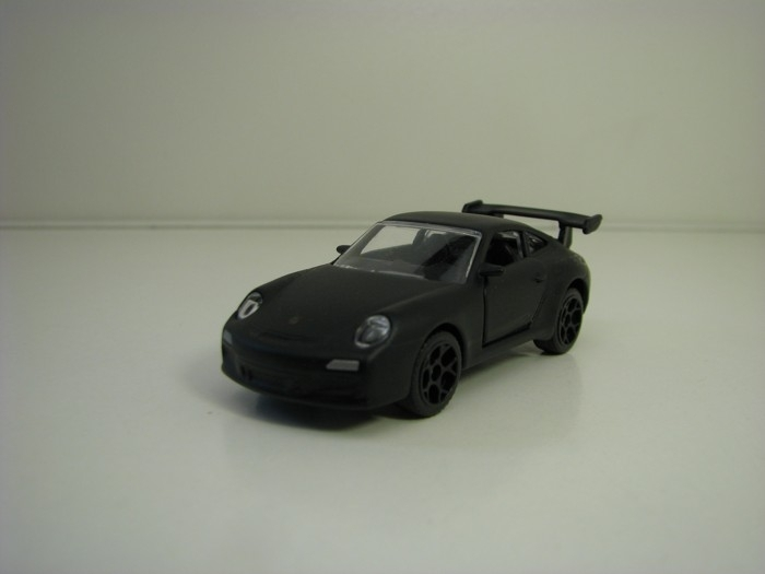 Autíčko Porsche 911 GT3RS Mato Black racing cars 1:59 Majorette box