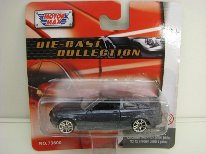 BMW 3 Coupe Grey 1:64 Motor Max