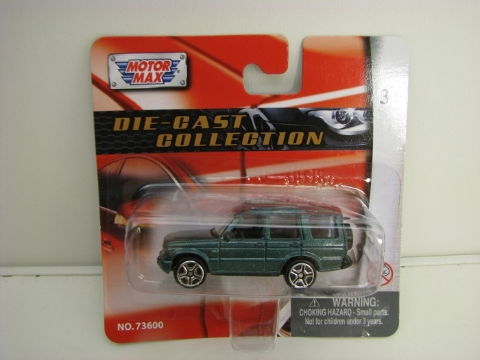 Land Rover Discovery Green 1:64 Motor Max