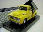 Ford F-100 Pick Up 1955 Yellow 1:24 Motor Max