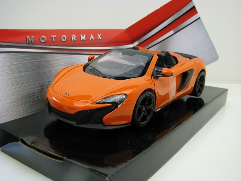 McLaren 6505 Spider orange metallic 1:24 Motor Max