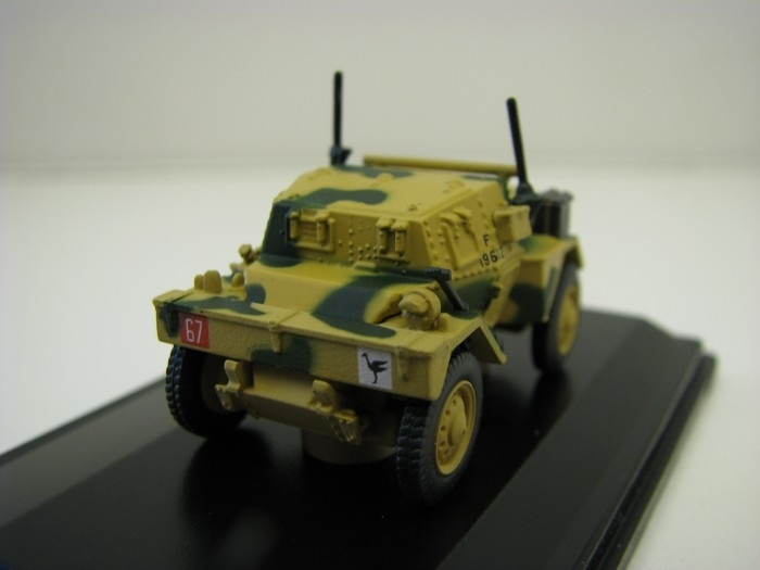 Dingo Scout Car 50th RTR 23rd Armoured Brigade Tunisia 1:76 Oxford