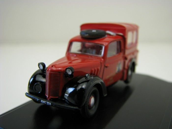 Austin Tilly City of Leeds Fire Brigade 1:76 Oxford