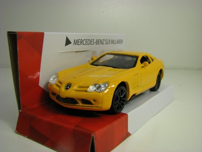 Mercedes-Benz SLR McLaren Yellow 1:43 Mondo Motors