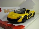 McLaren P1 Yellow 1:24 Mondo Motors
