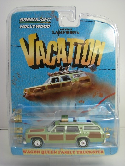 Wagon Queen Family Truckster Vacation 1:64 Hollywood Greenlight