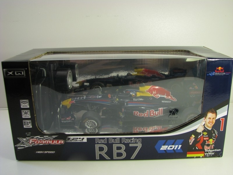 Renault Red Bull F1 Racing RB7 S. Vettel No.1 2011 1:24 RC model XQ