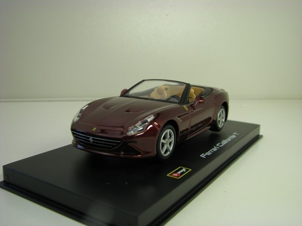 Ferrari California T Open Purple metallic 1:43 Bburago