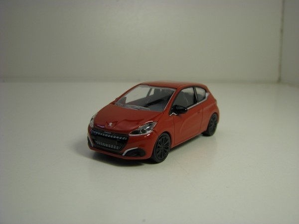 Peugeot 208 Brown 1:64 Norev