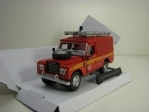 Land Rover Series III Fire and Rescue servis 1:43 Cararama
