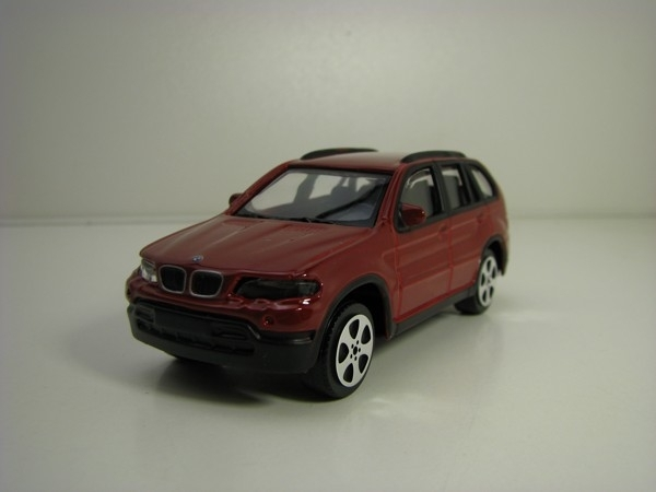 BMW X5 Purple 1:43 Bburago