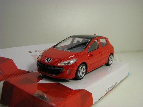 Peugeot 308 Red 1:43 City Mondo Motors