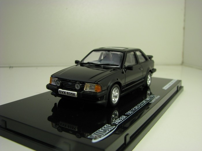 Ford Escort MK3 XR3 1981 Black 1:43 Vitesse