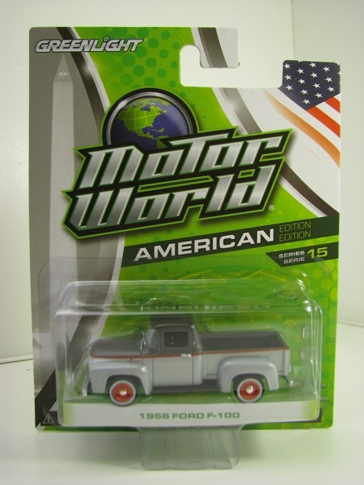 Ford F-100 1956 Motor World 1:64 Greenlight