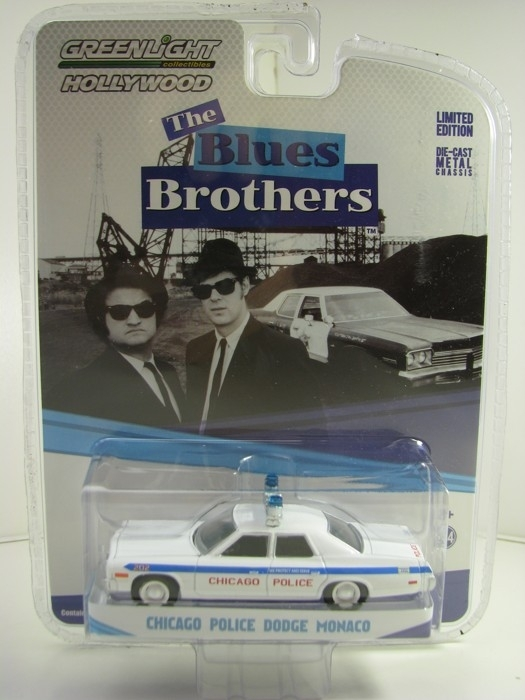 Dodge Monaco Chicago Police The Blues Brothers 1:64 Greenlight