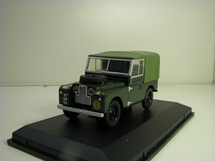 Land Rover series 1 88 Canvas REME 1:43 Oxford