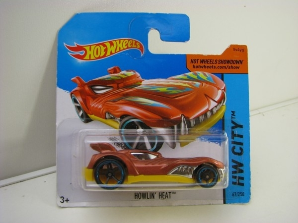 Hot Wheels 2015 Howlin Heat HW City BFG11