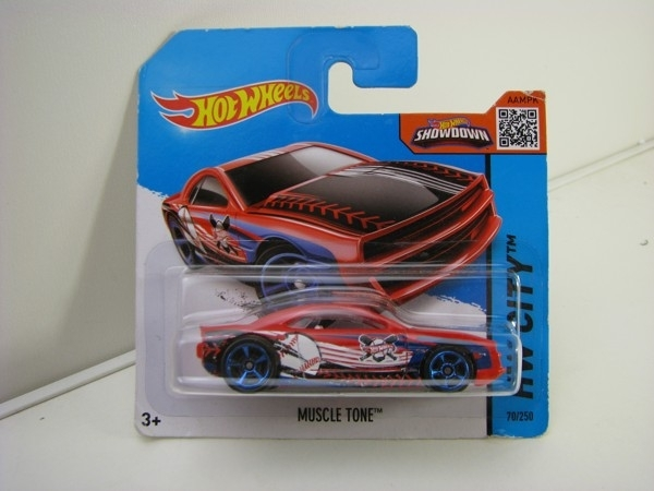Hot Wheels 2015 Muscle Tone HW City CFK27
