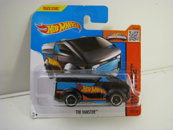 Hot Wheels 2015 The Vanster Black HW Race CFJ54