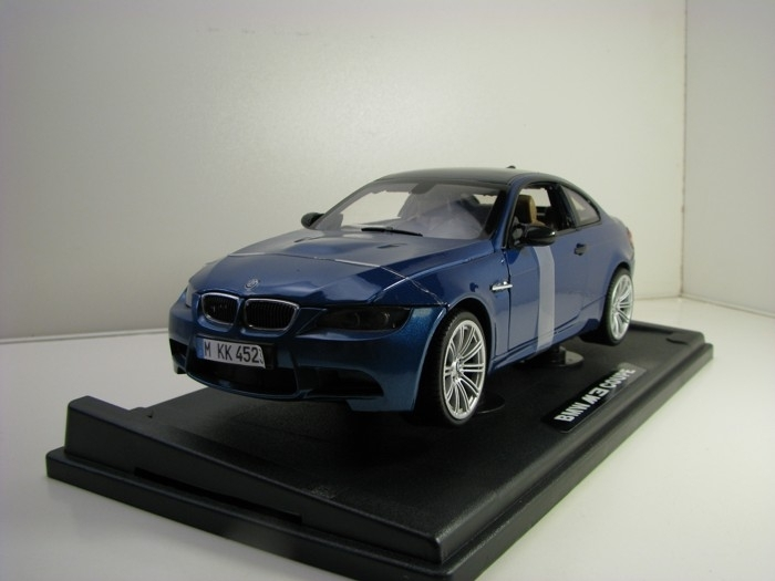 BMW M3 Coupé Blue 1:18 Motor Max