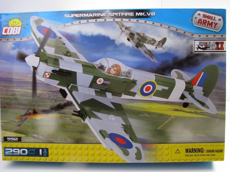 Supermarine Spitfire MK.VB COBI 5512 Small Army