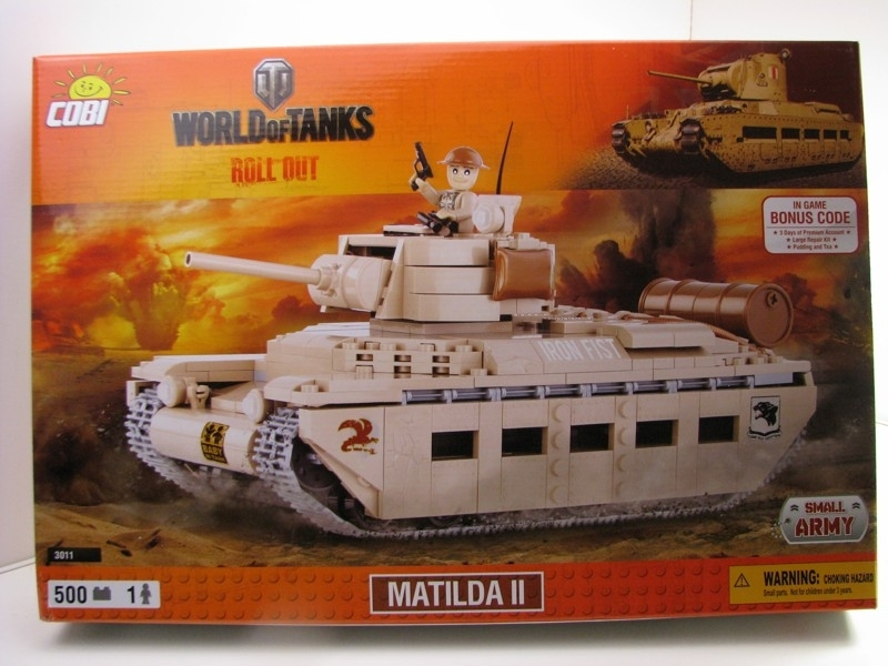 Cobi 3011 tank Matilda II World of Tanks Small Army