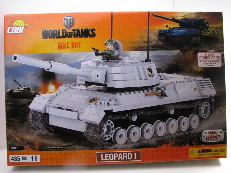 Cobi 3009 tank Leopard I World of Tanks Small Army