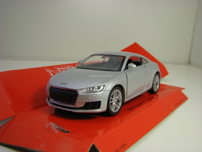 Audi TT Coupe 2014 Silver 1:34 - 39 Welly