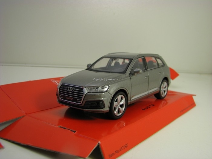 Audi Q7 Grey 1:34 - 39 Welly