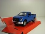 Ford F-150 Regular Cab 2015 Blue 1:34-39 Welly