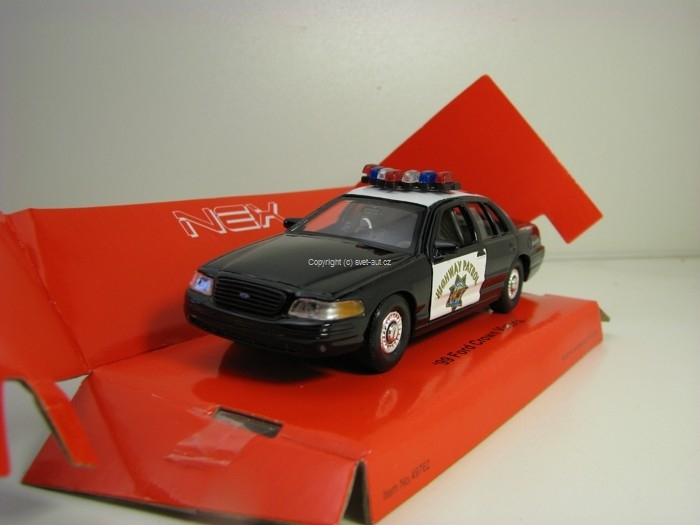 Ford Crown Victoria 1999 Highway Patrol 1:32 - 36 Welly