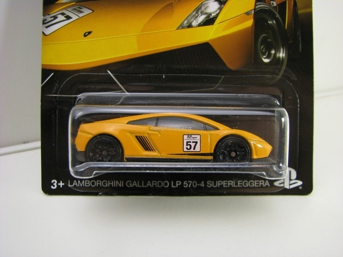 Hot Wheels Gran Turismo 7/8 Lamborghini Gallardo LP 570-4 Superleggera
