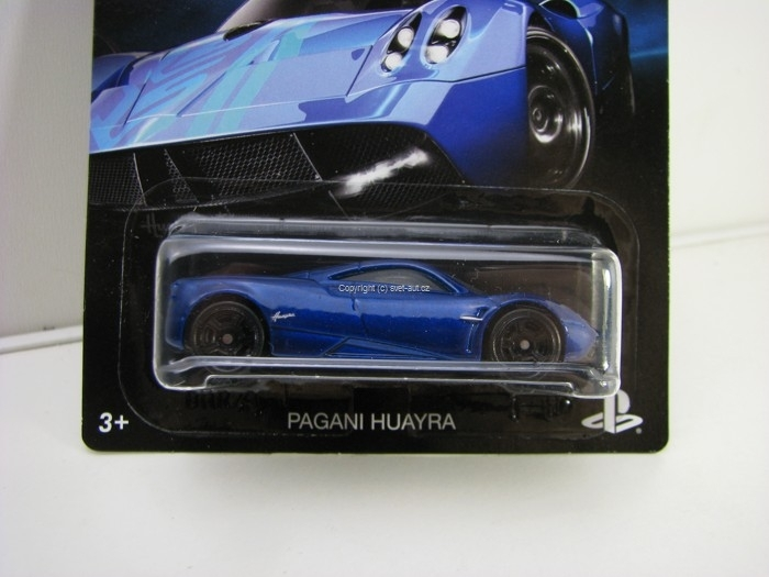 Hot Wheels Gran Turismo 4/8 Pagani Huayra