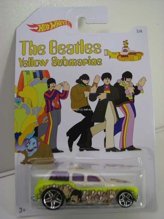 Hot Wheels The Beatles Yellow Submarine 2/6 John Lennon