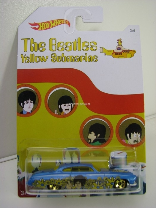 Hot Wheels The Beatles Yellow Submarine 3/6 Fish Dn Chip D George Harrison