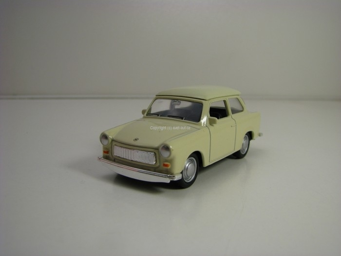 Trabant 601 Beige Pull Back 1:60 Welly