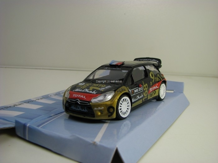 Citroen DS3 No.1 WRC 2013 Abu Dhabi 1:43 Mondo Motors