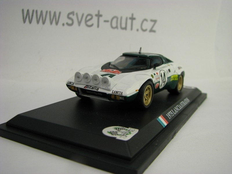 Lancia Stratos HF Munari No.14 Rally MC 1975 1:43 del Prado