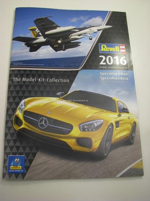 Katalog Revell 2016 Kit Collection A4 107 stran