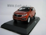 Kia Sportage R Brown metallic 1:36 Pino B&D